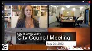 City Council Meeting May 26, 2020