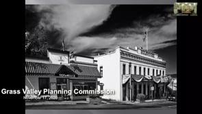 Grass Valley Planning Commission Meeting 11/17/2020