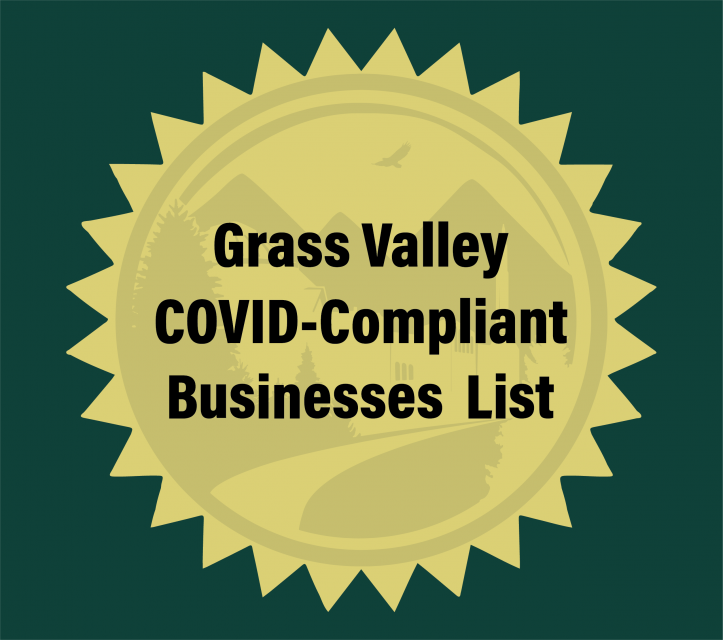 Grass Valley COVID-Compliant Businesses List