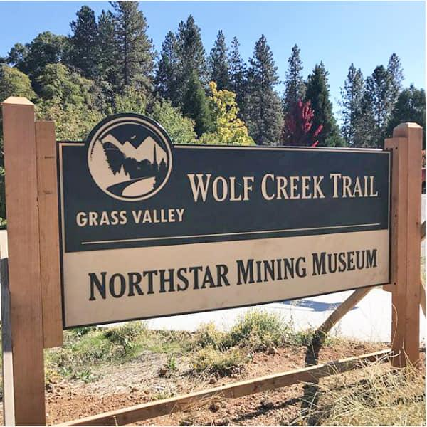 Grass Valley Wolf Creek Trail Northstar Mining Museum